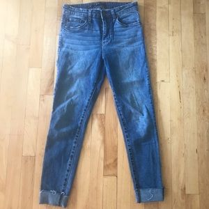 High Rise Ankle Jeans by STS Blue